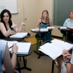 Students learning Spanish at ISL International School of Languages