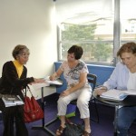 Students learning French at ISL International School of Languages