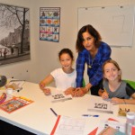 Children learning French at ISL International School of Languages